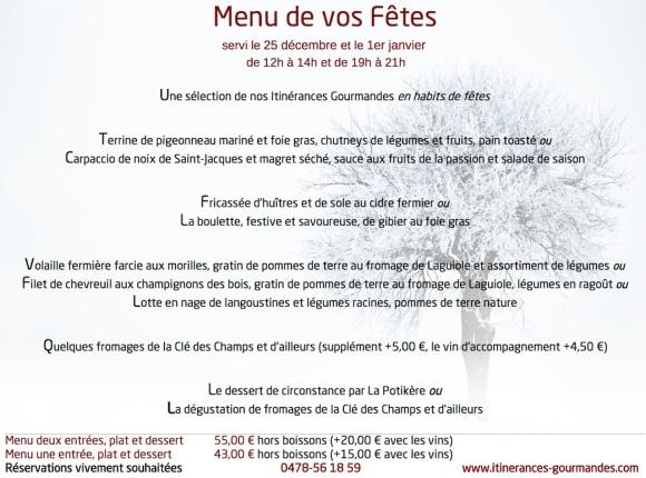 2013 - Repas de Fêtes