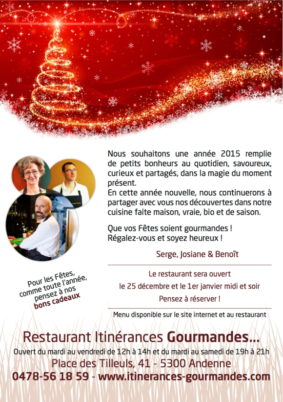 Itinerances Gourmandes-2014-voeux